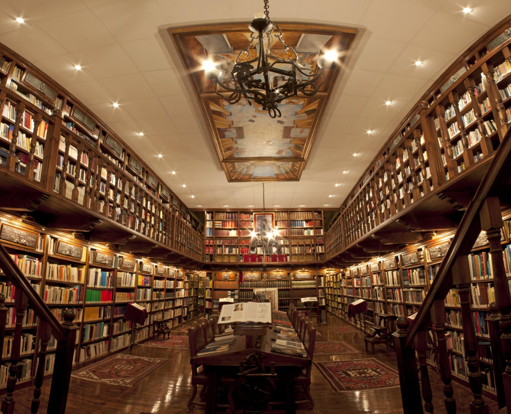 Library Bodegas Mocén