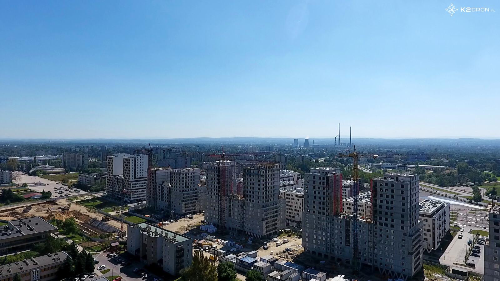 Osiedle Avia i Osiedle Orlińskiego Kraków - wieżowce budowane w Czyżynach