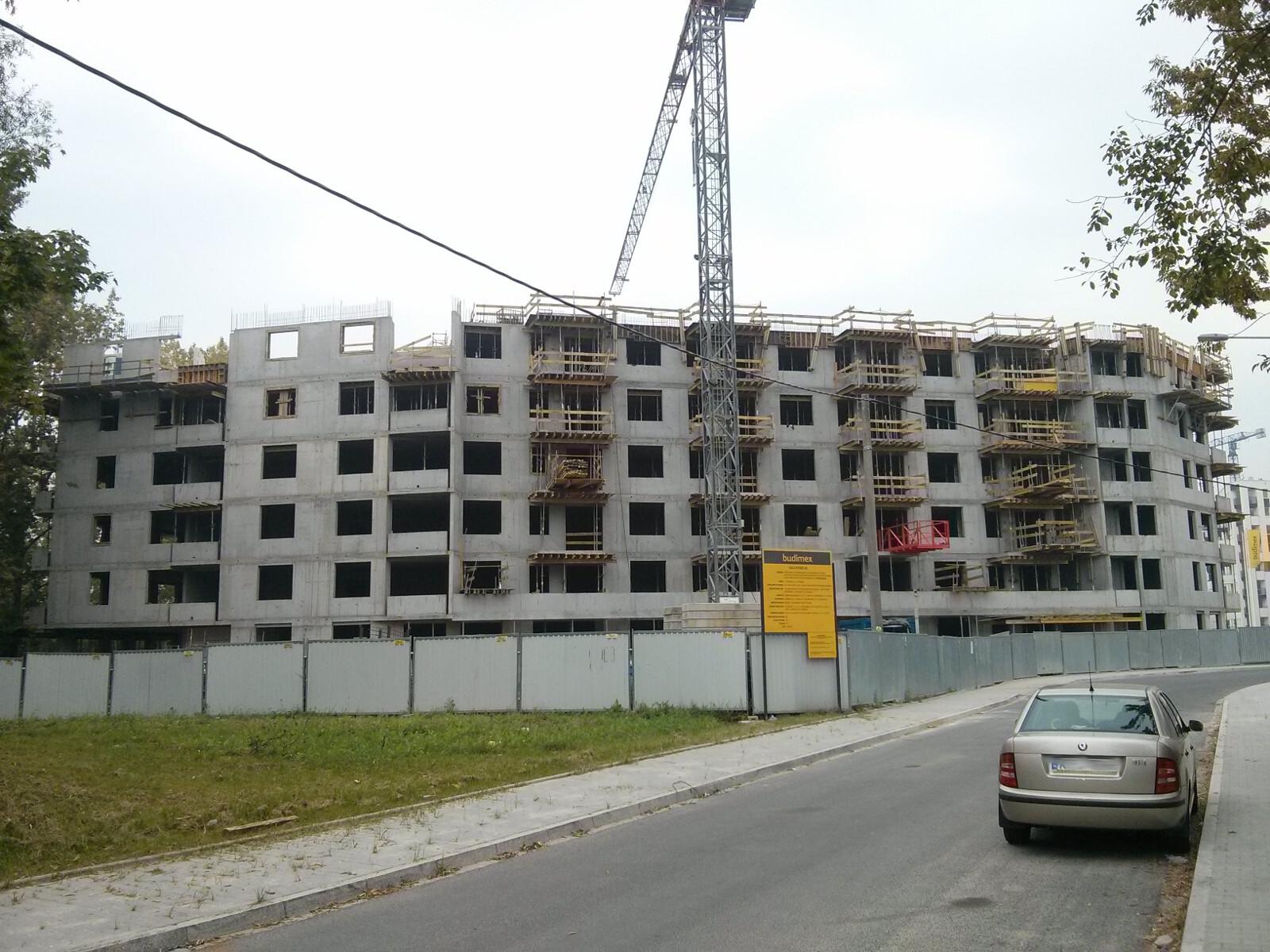 Deweloper Budimex nieruchomości buduje tanie mieszkania w Krakowie - Orlińskiego 12