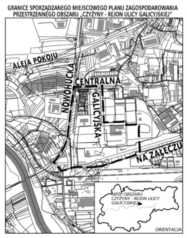 Nowy Miejscowy Plan Zagospodarowania Przestrzennego dla Galicyjskiej w Czyżynach