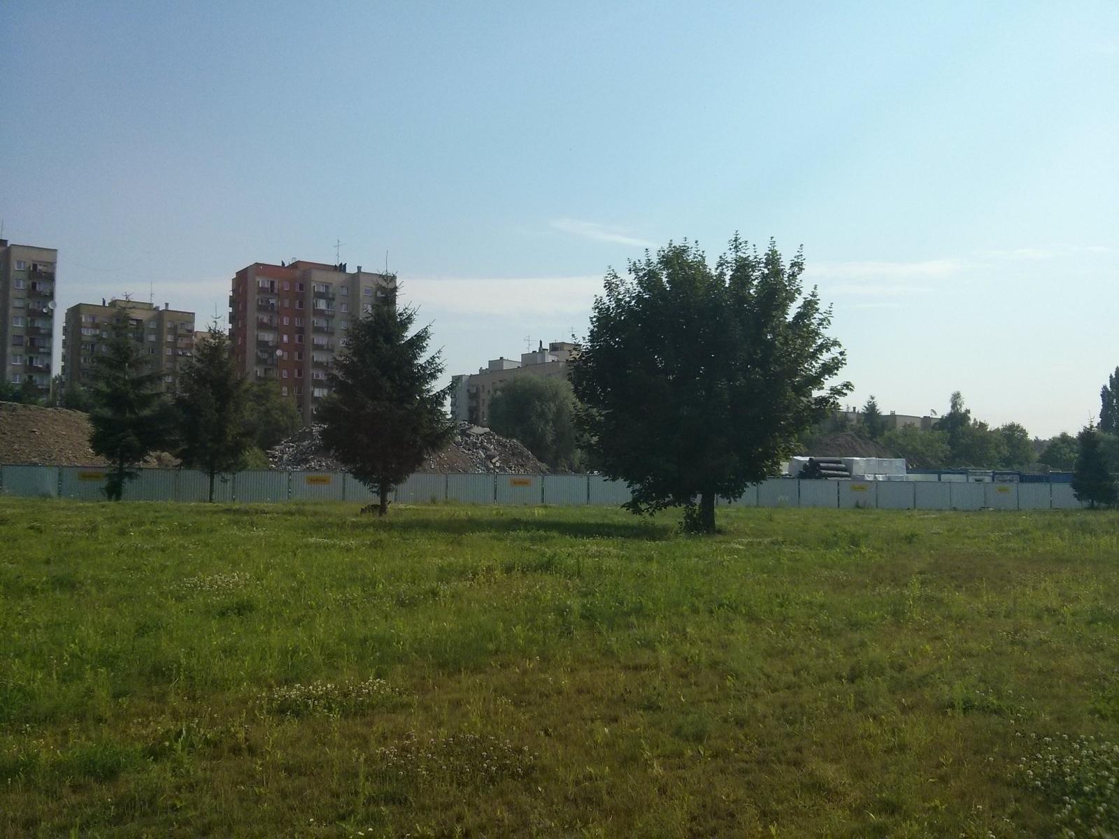 Budowa mieszkań na osiedlu Avia w Czyżynach