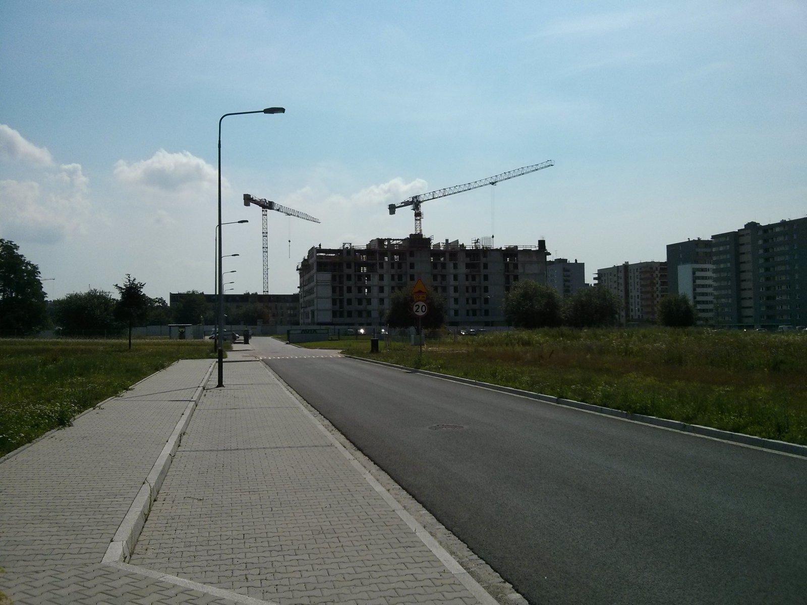 Budowa osiedla Avia 4 (etap 2)