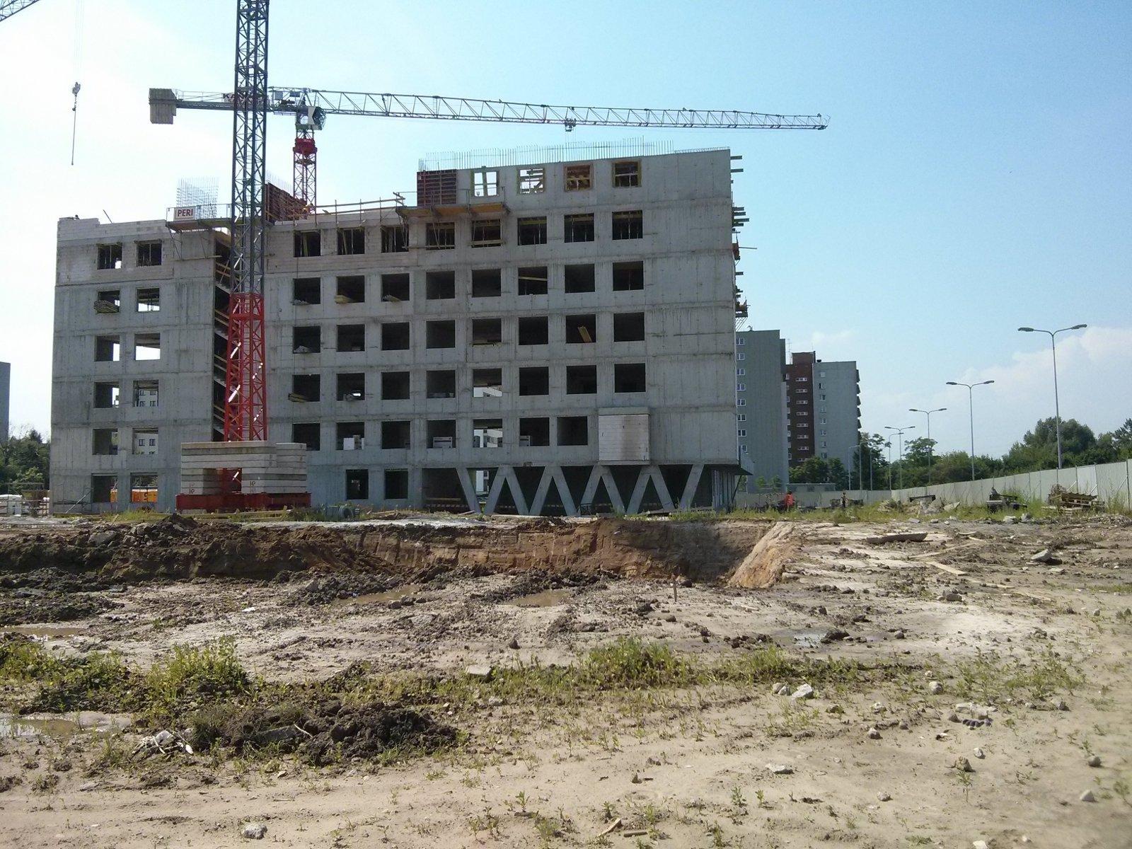 Budowa osiedla Avia enklawa 4