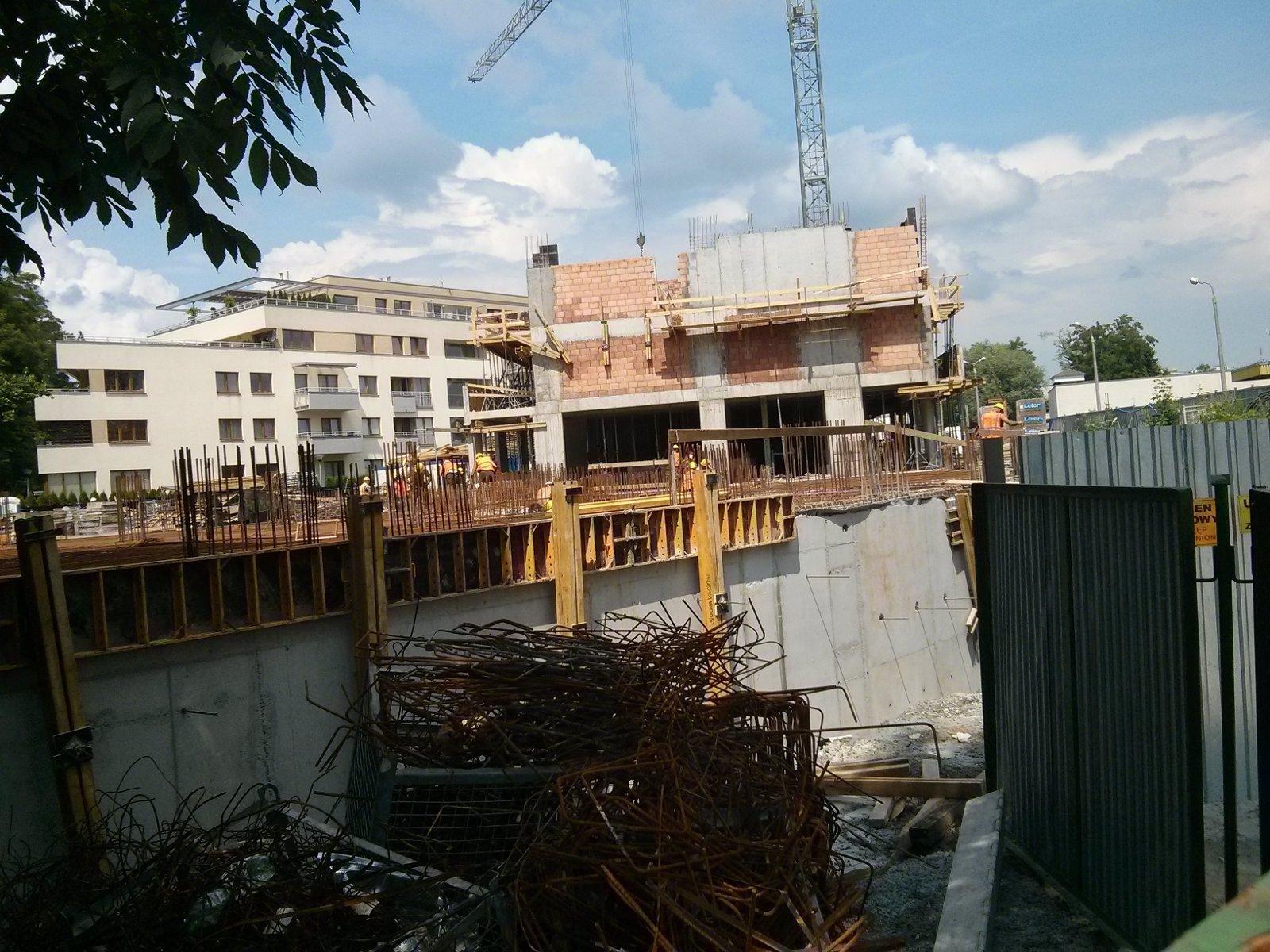 Osiedle Eldorado Awim - budowa bloku