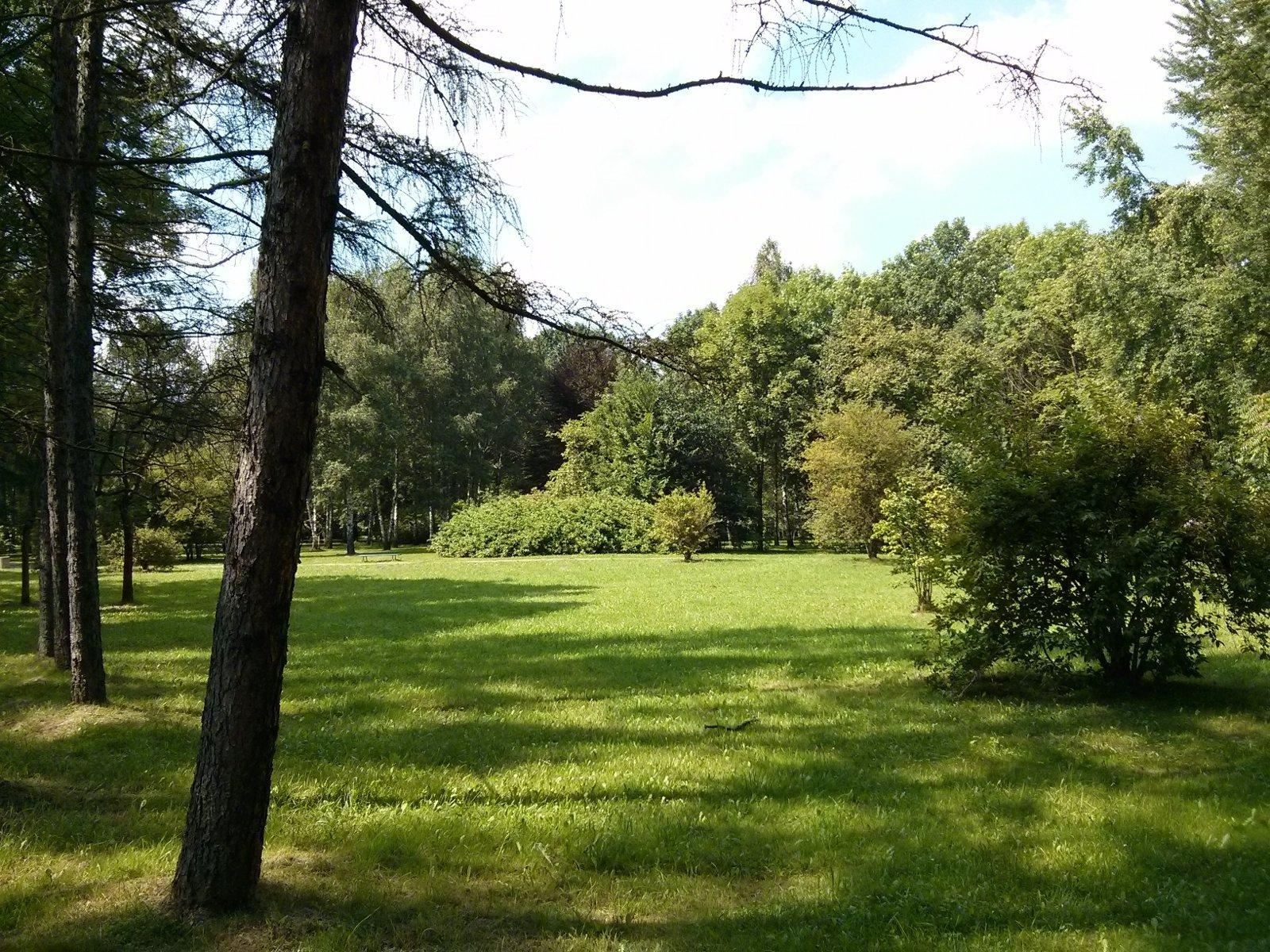Zdjęcia Parku Lotników Polskich w Czyżynach w Krakowie