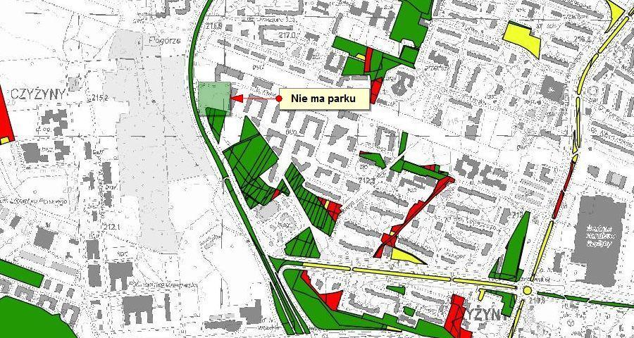 Strategia rozwoju terenów zielonych w Krakowie i nowy park w Czyżynach