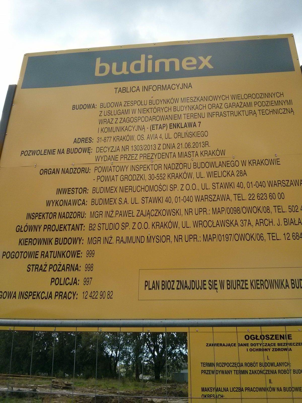 Budimex buduje osiedle Avia Orlińskiego 6