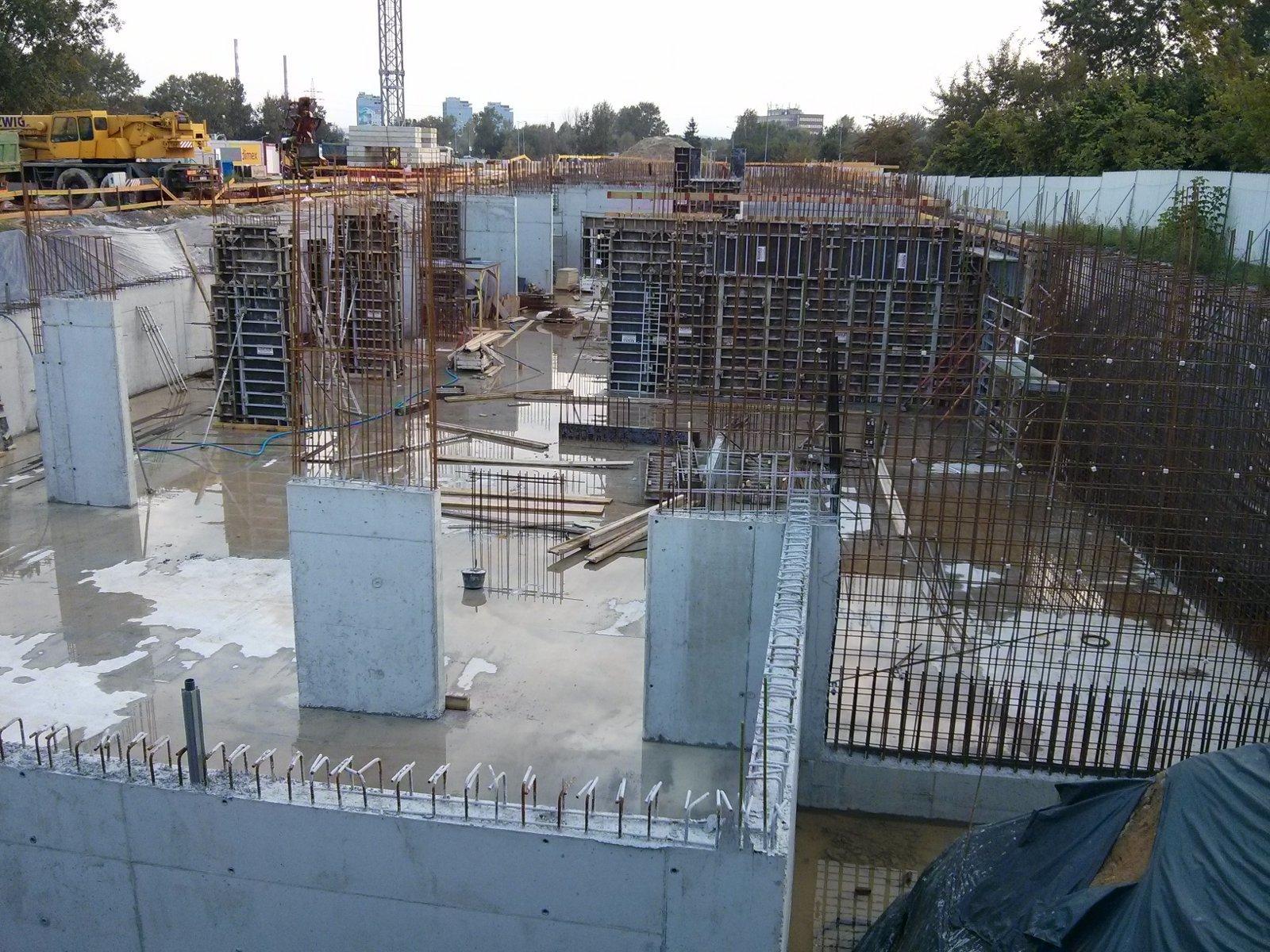 Budowa bloku Orlińskiego Budimex