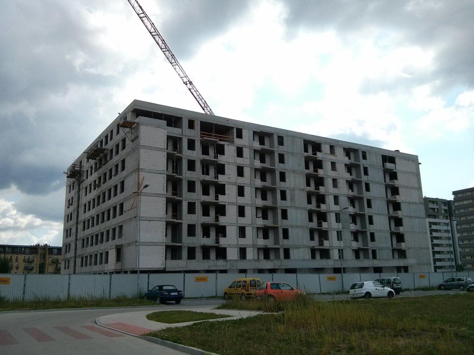 Budowa osiedla Avia w nowych Czyżynach
