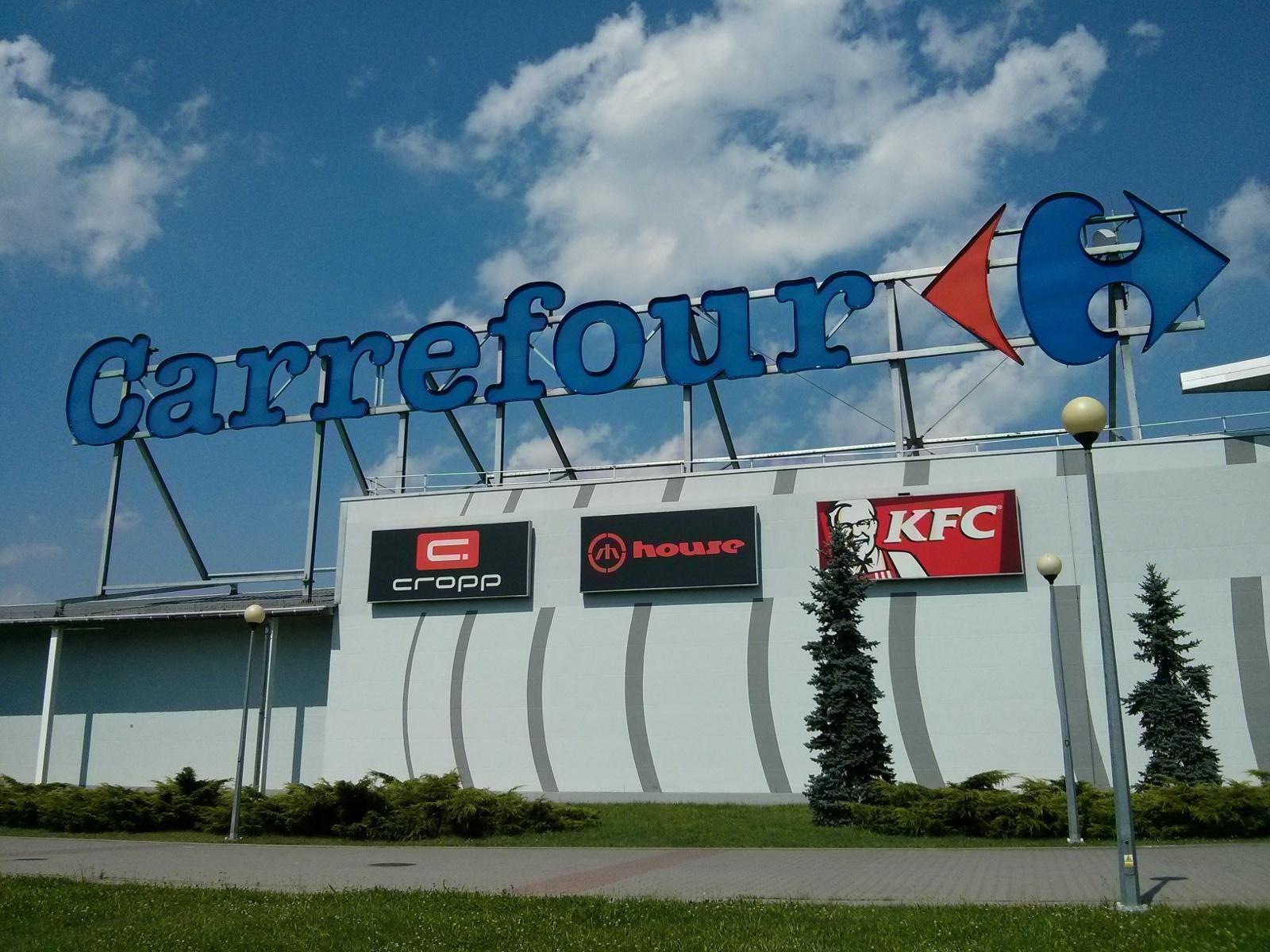 Cropp, House i KFC w centrum handlowym Czyżyny
