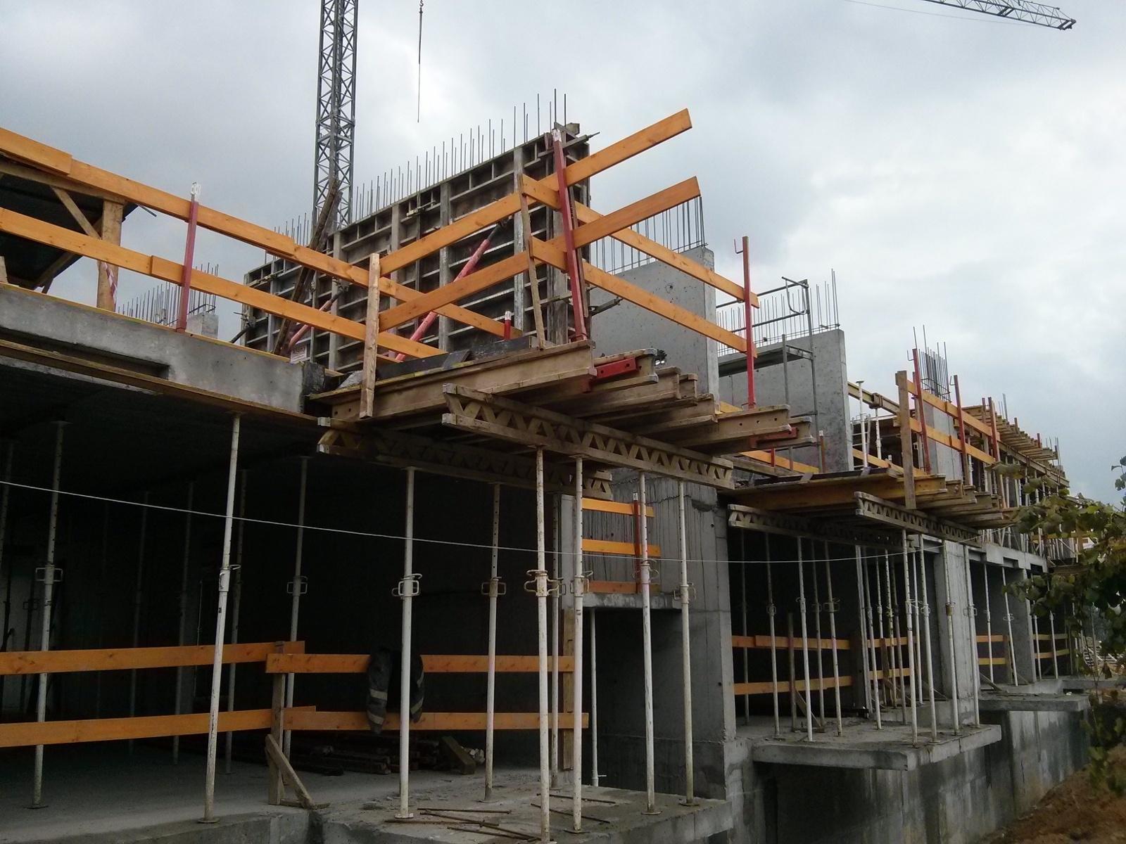 Inwestycja Orlińskiego 4 w Czyżynach w Krakowie - pierwsze piętro