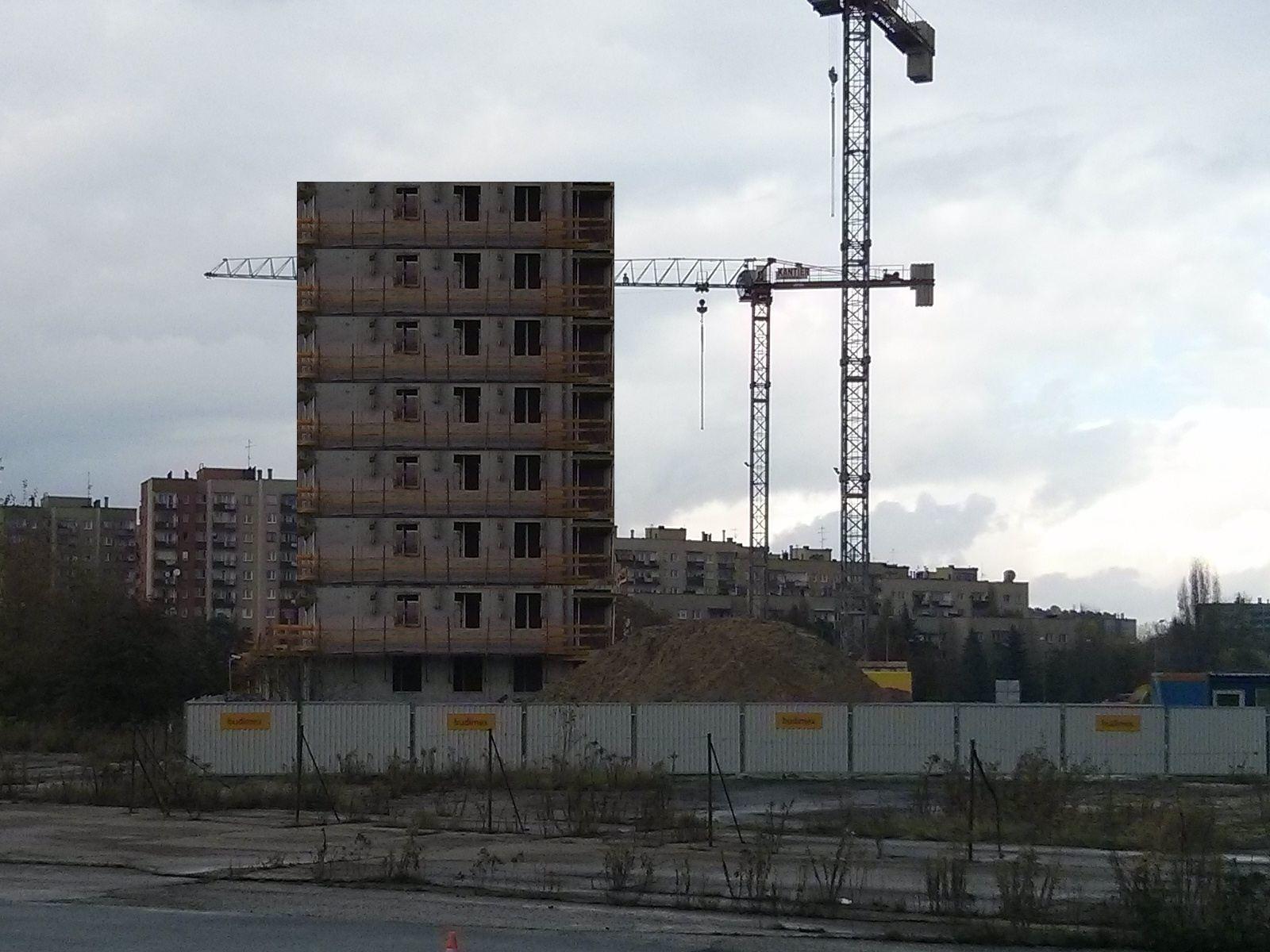 Osiedle nowe Czyżyny w Krakowie budowane przez Budimex - Orlińskiego 4