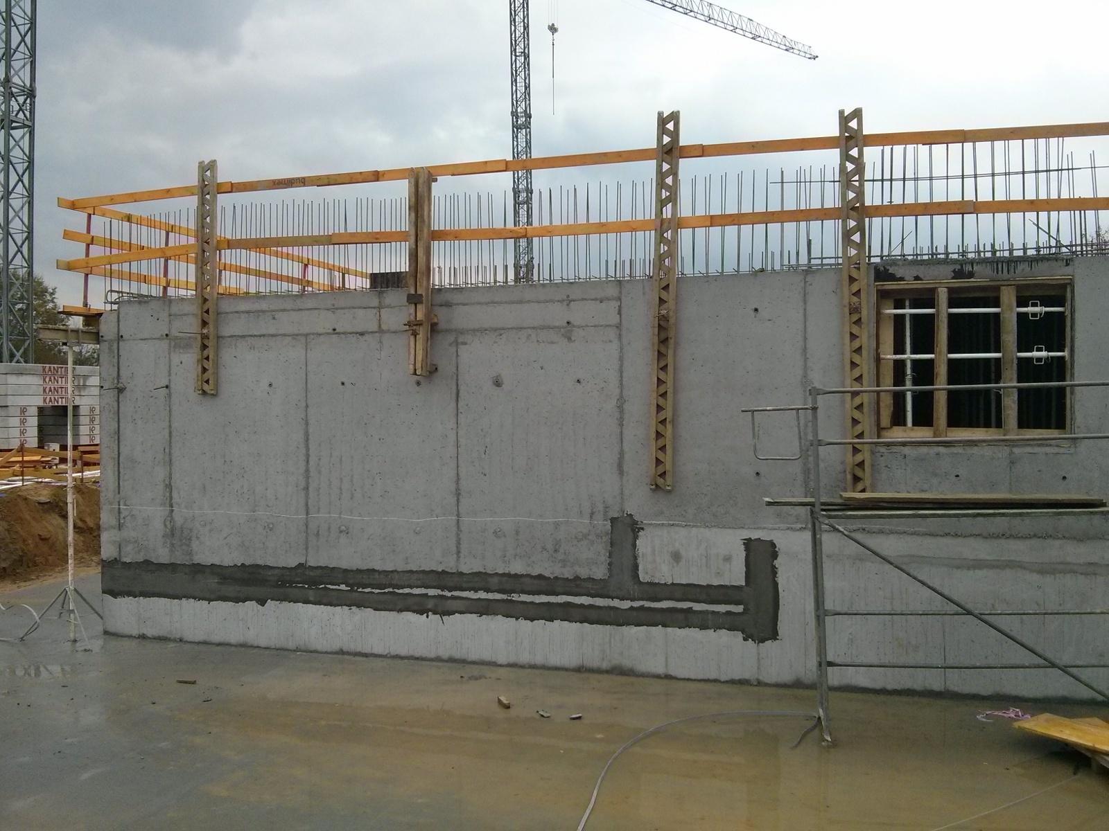 Budowa bliku przez Budimex w krakowskich Czyżynach