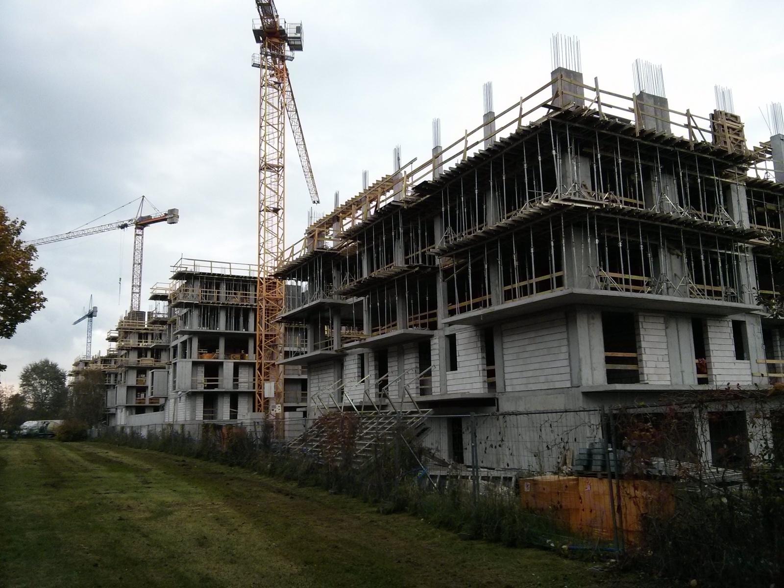 Budowa osiedla City Towers w Czyżynach przez Atal