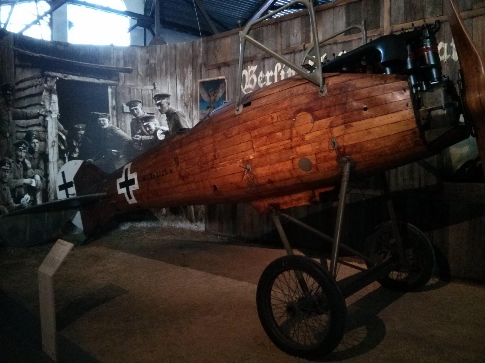 Skrzydła wielkiej wojny- wystawa samolotów z pierwszej wojny światowej