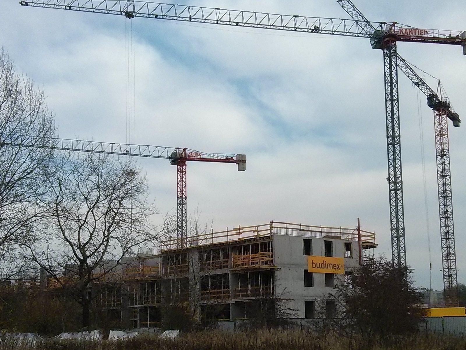 Budowa osiedla nowe Czyżyny w Krakowie przez Budimex