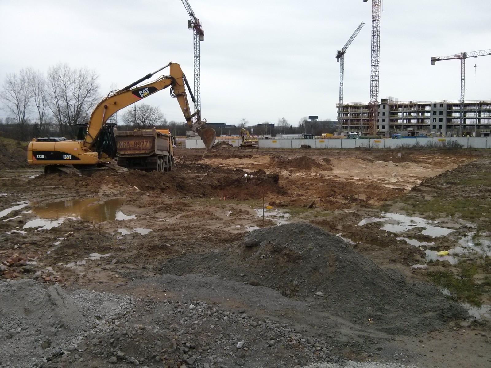 Nowe Czyżyny - budowa nowych mieszkań na Orlińskiego w Krakowie