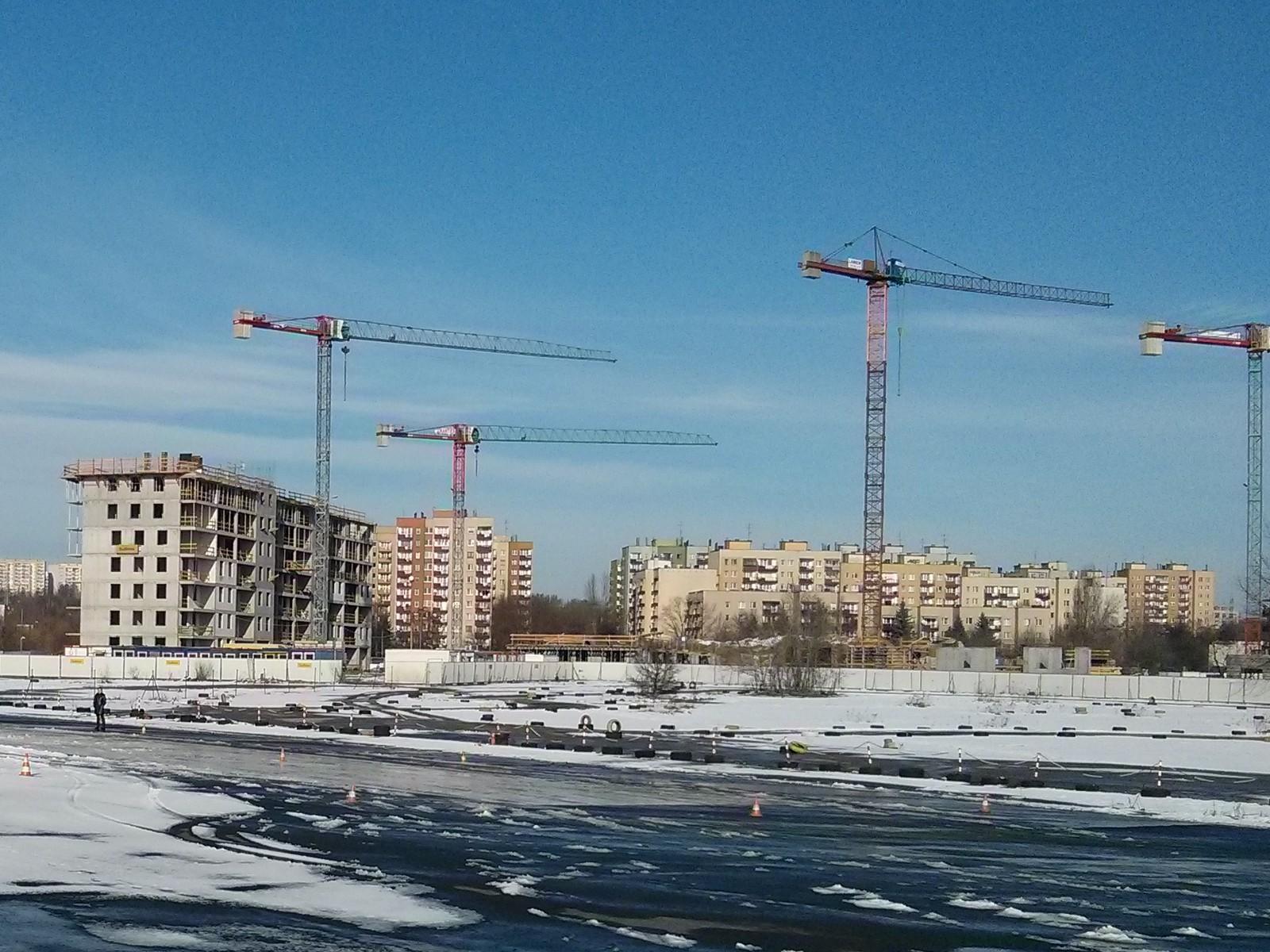 Budynek z nowymi mieszkaniami w krakowskich Czyżynach