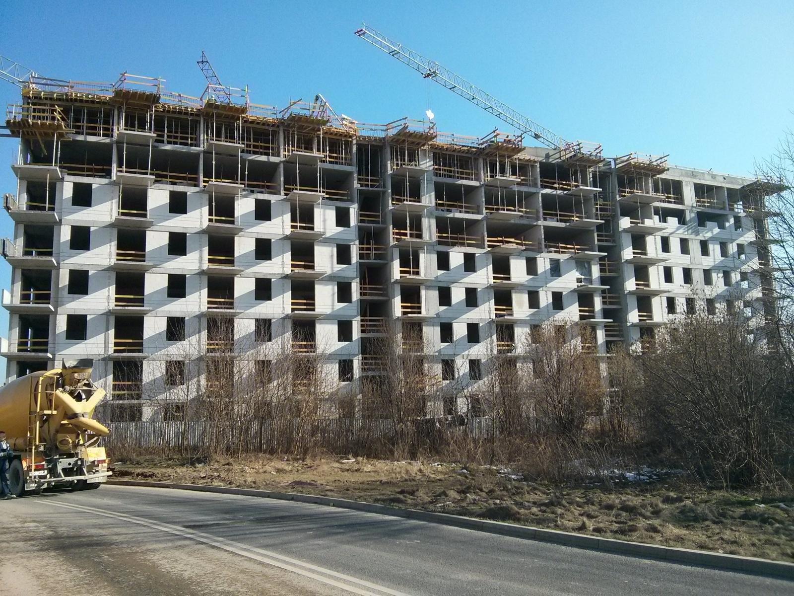 Budimex kończy budowę pierwszego bloku na osiedlu Orlińskiego w Krakowie