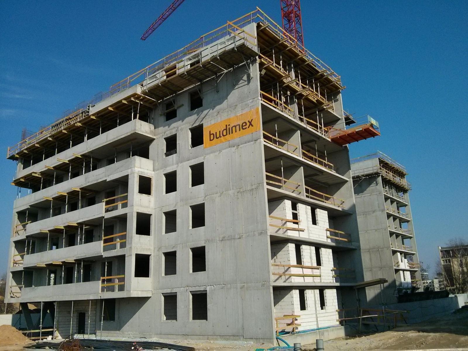 Budimex stawia osiedle Avia w Krakowie