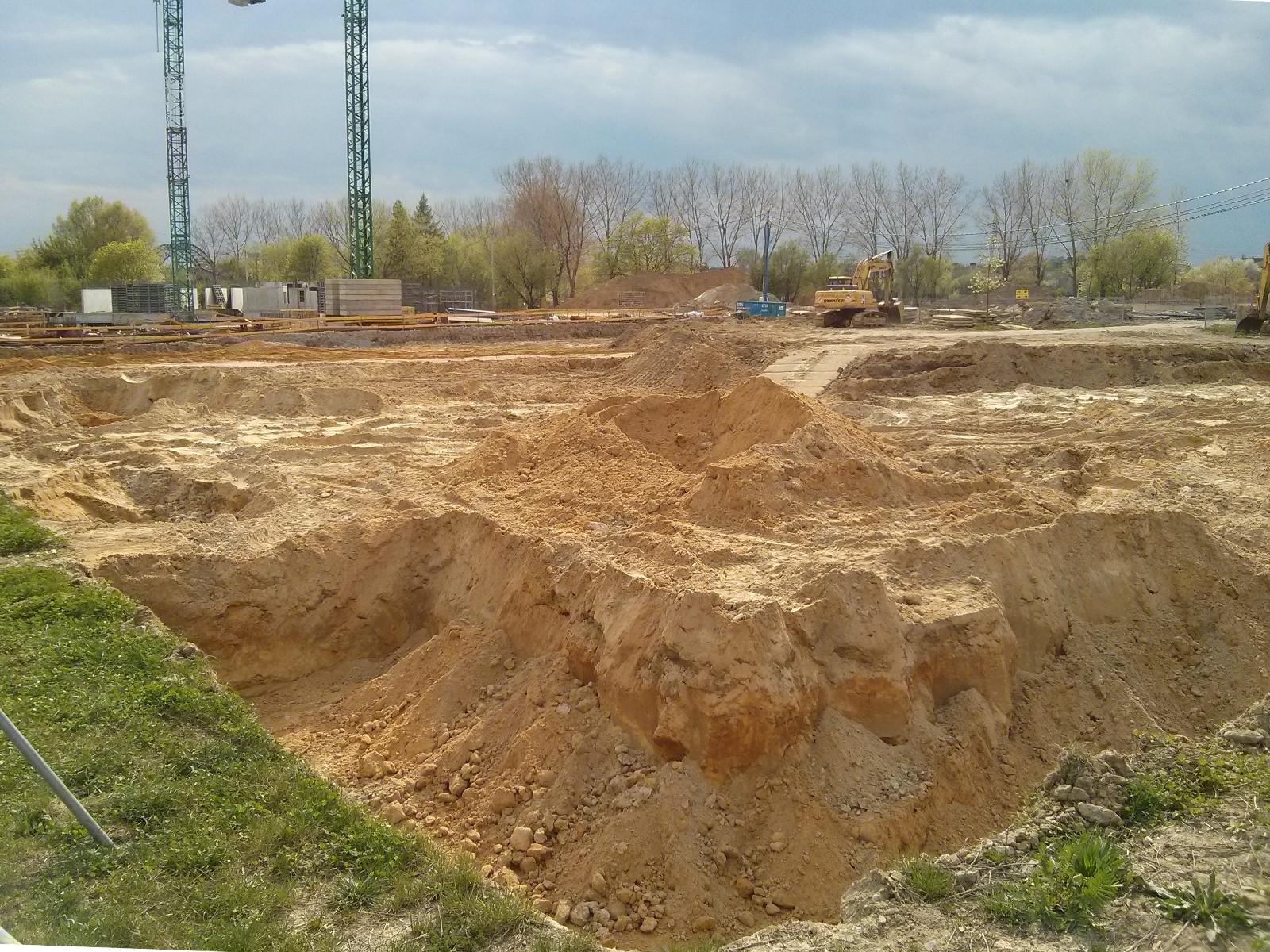 Budimex zaczyna wykop pod Budynek Avia 3 w Czyżynach