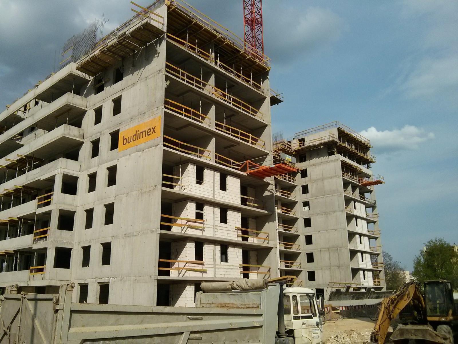 Budimex Nieruchomości stawia budynek Avia 2