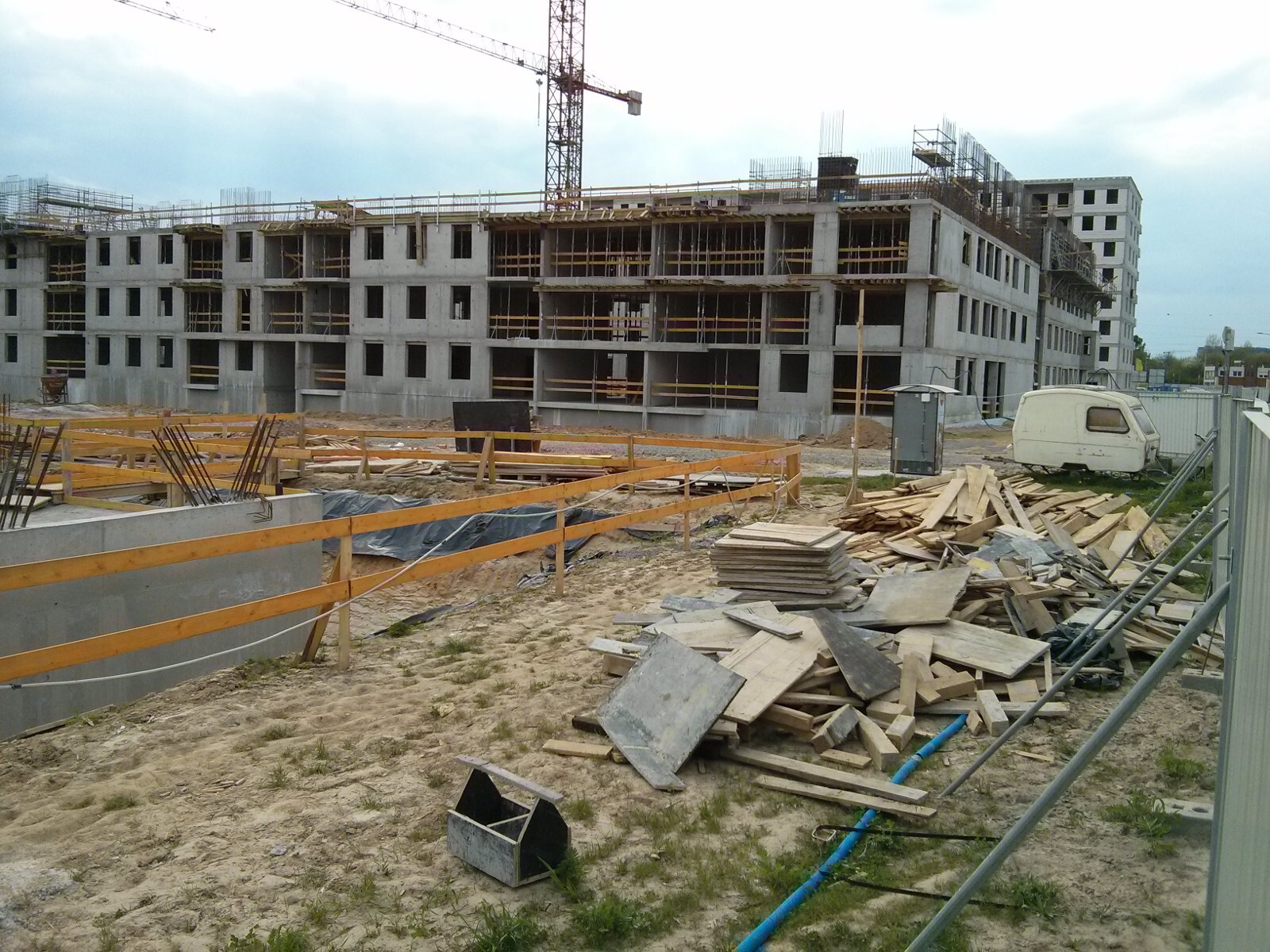 Nowe mieszkania Orlińskiego 6 w Czyżynach - budowa