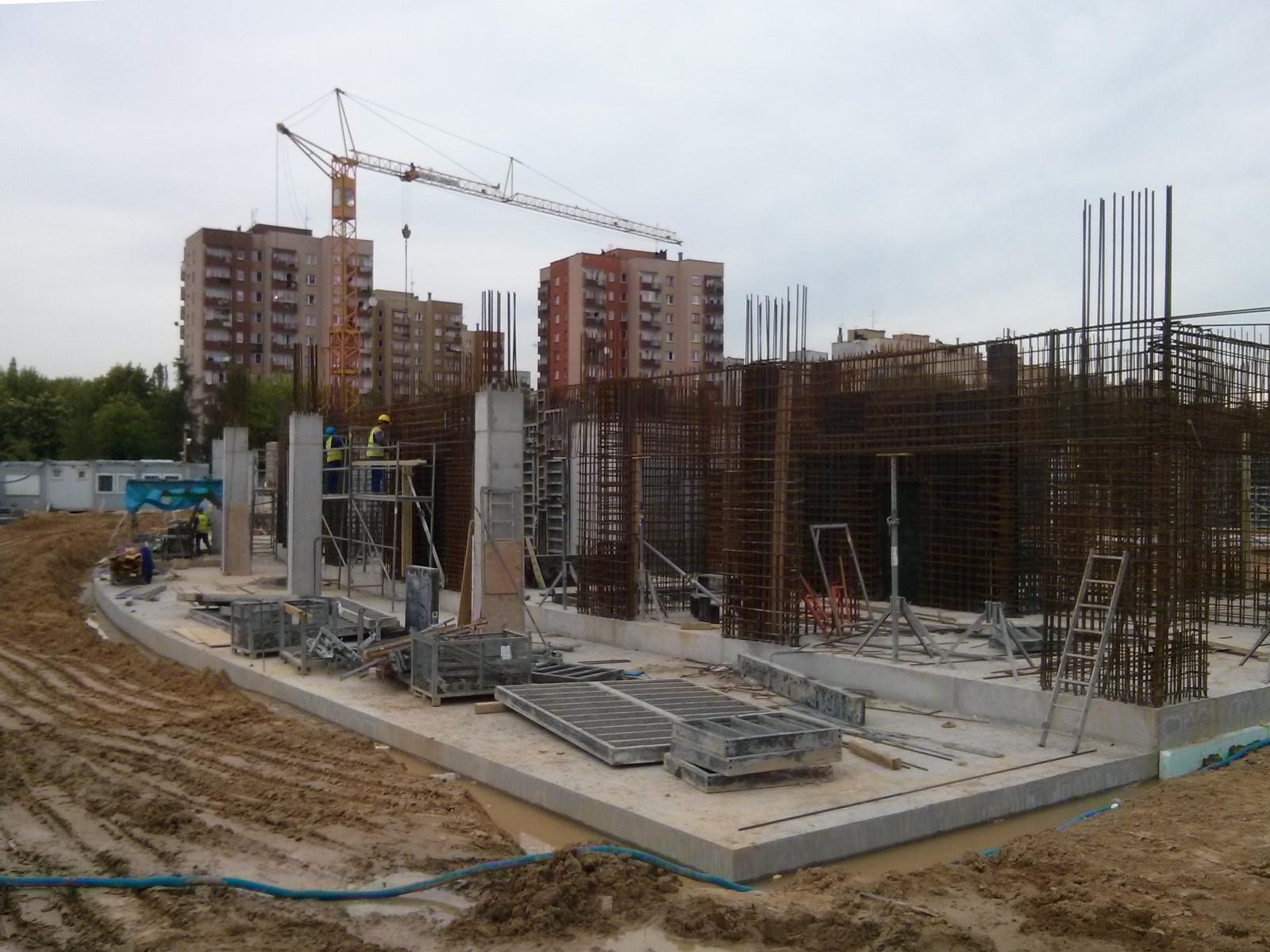 Nowe mieszkania - parter inwestycji Orlińskiego 1 Budimexu