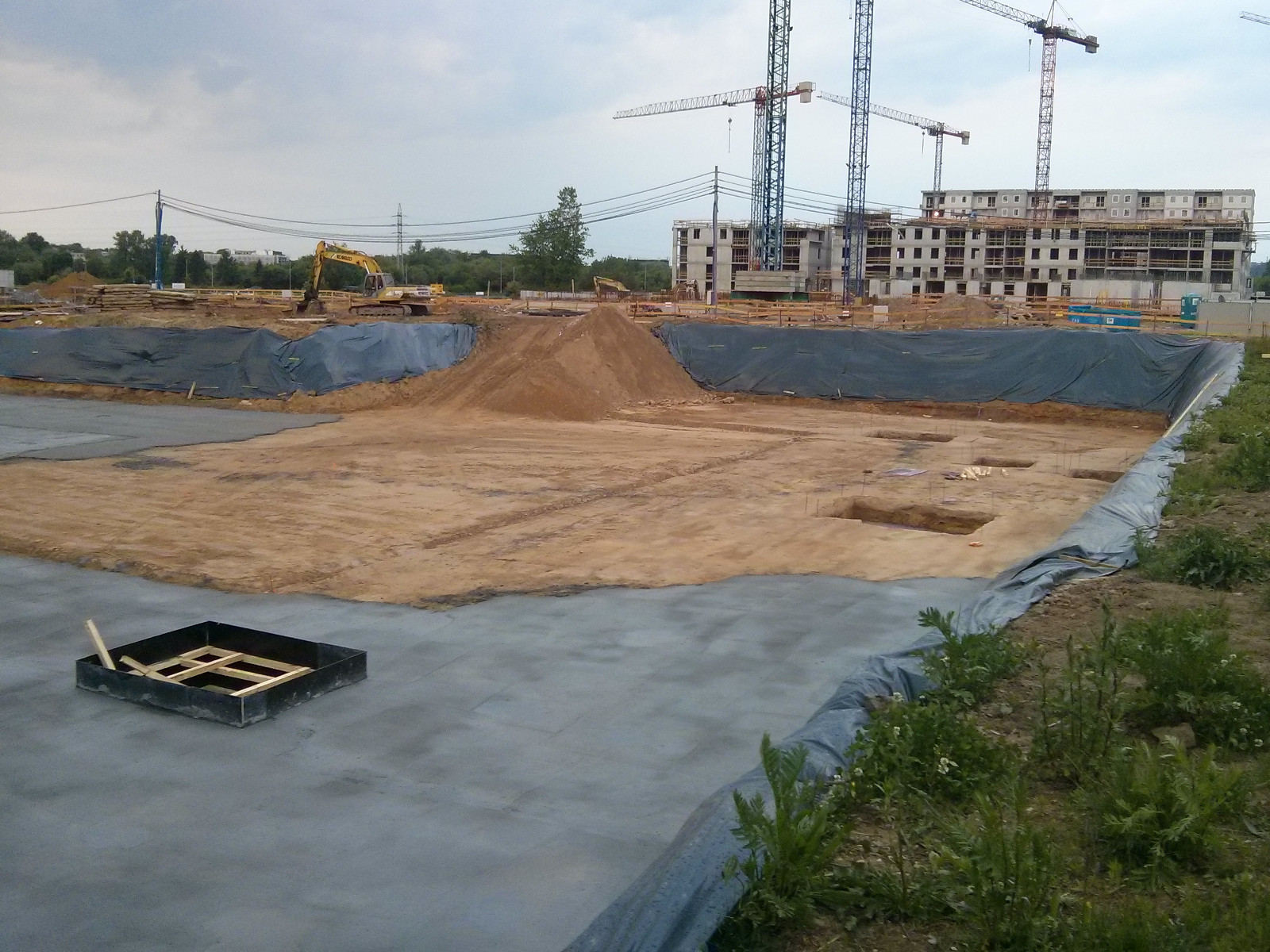 Osiedle Avia 3 w Czyżynach w Krakowie budowane przez Budimex