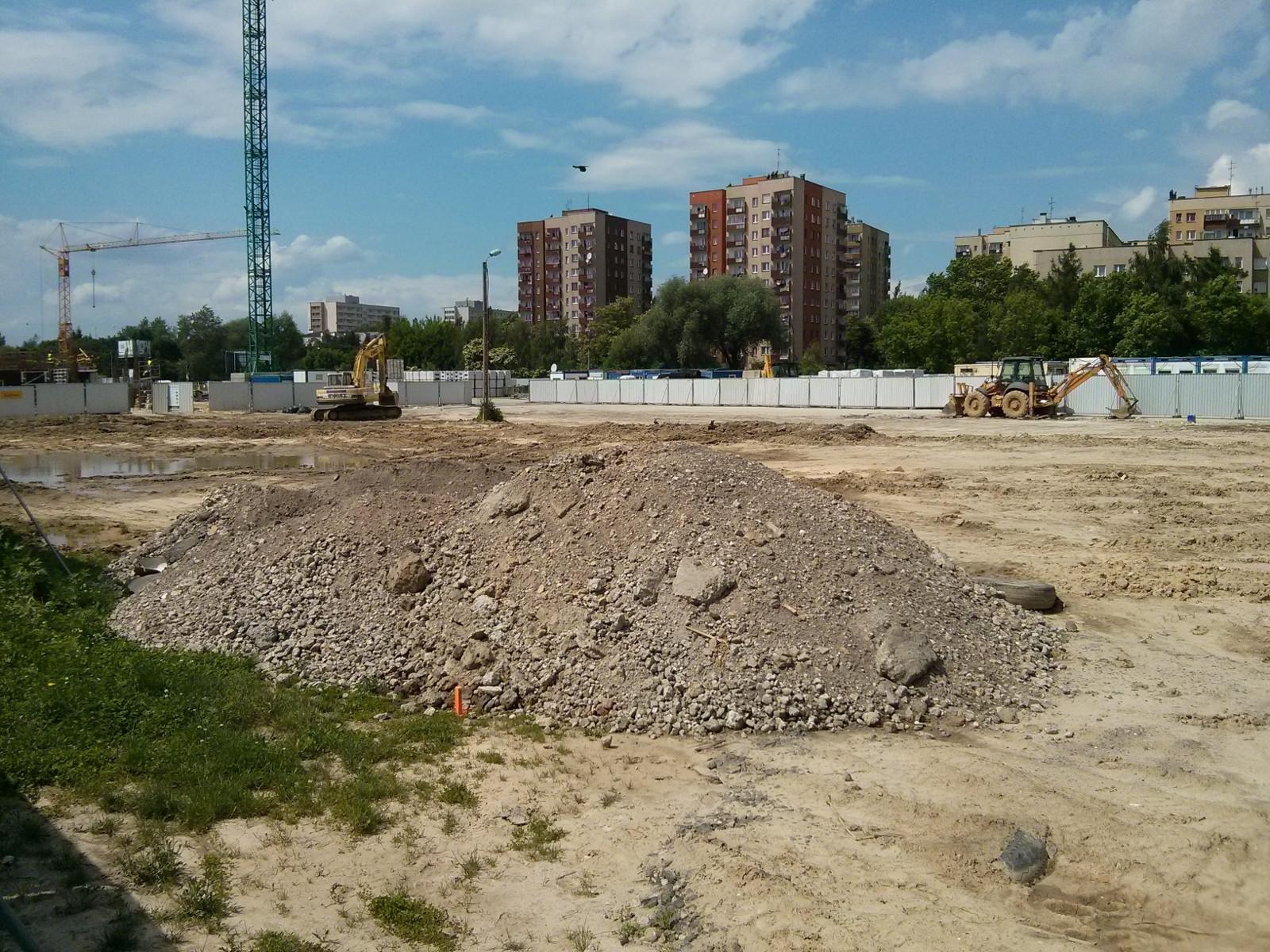 Budowa inwestycji Orlińskiego 3 w Krakowskich Czyżynach Budimex