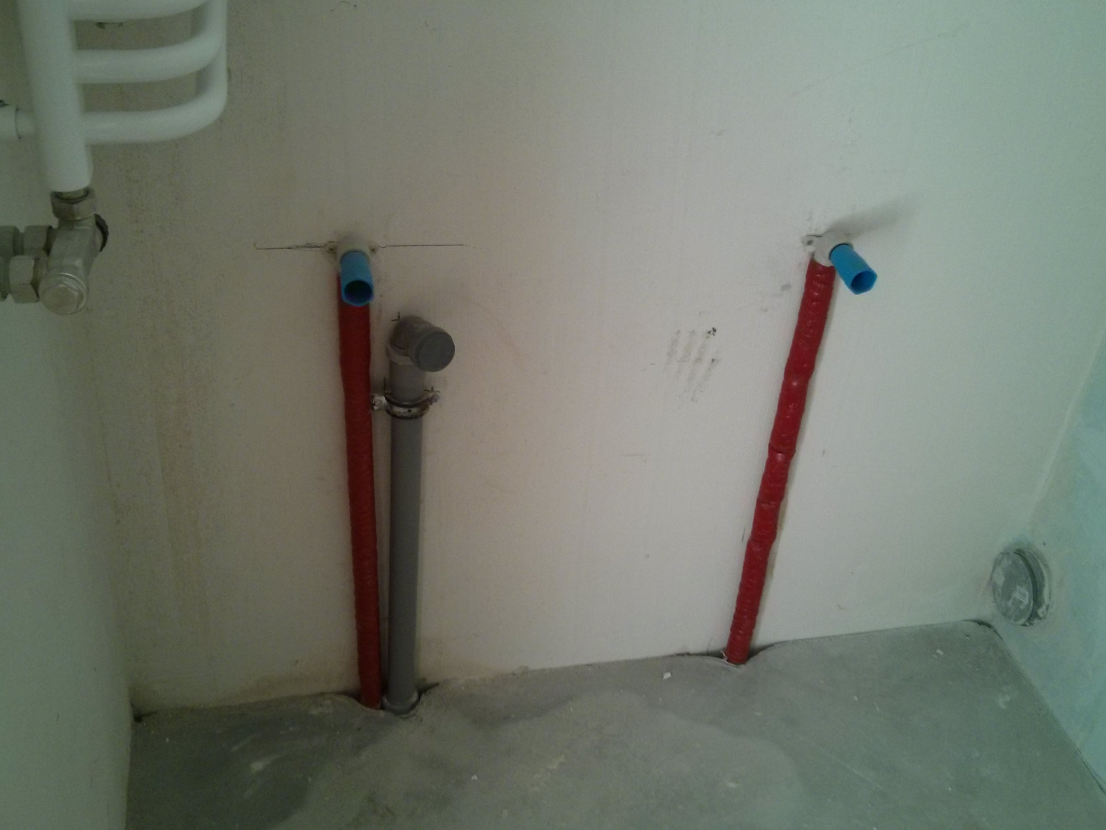 Nowe mieszkania od Budimexu - instalacja wodna i kanalizacyjna