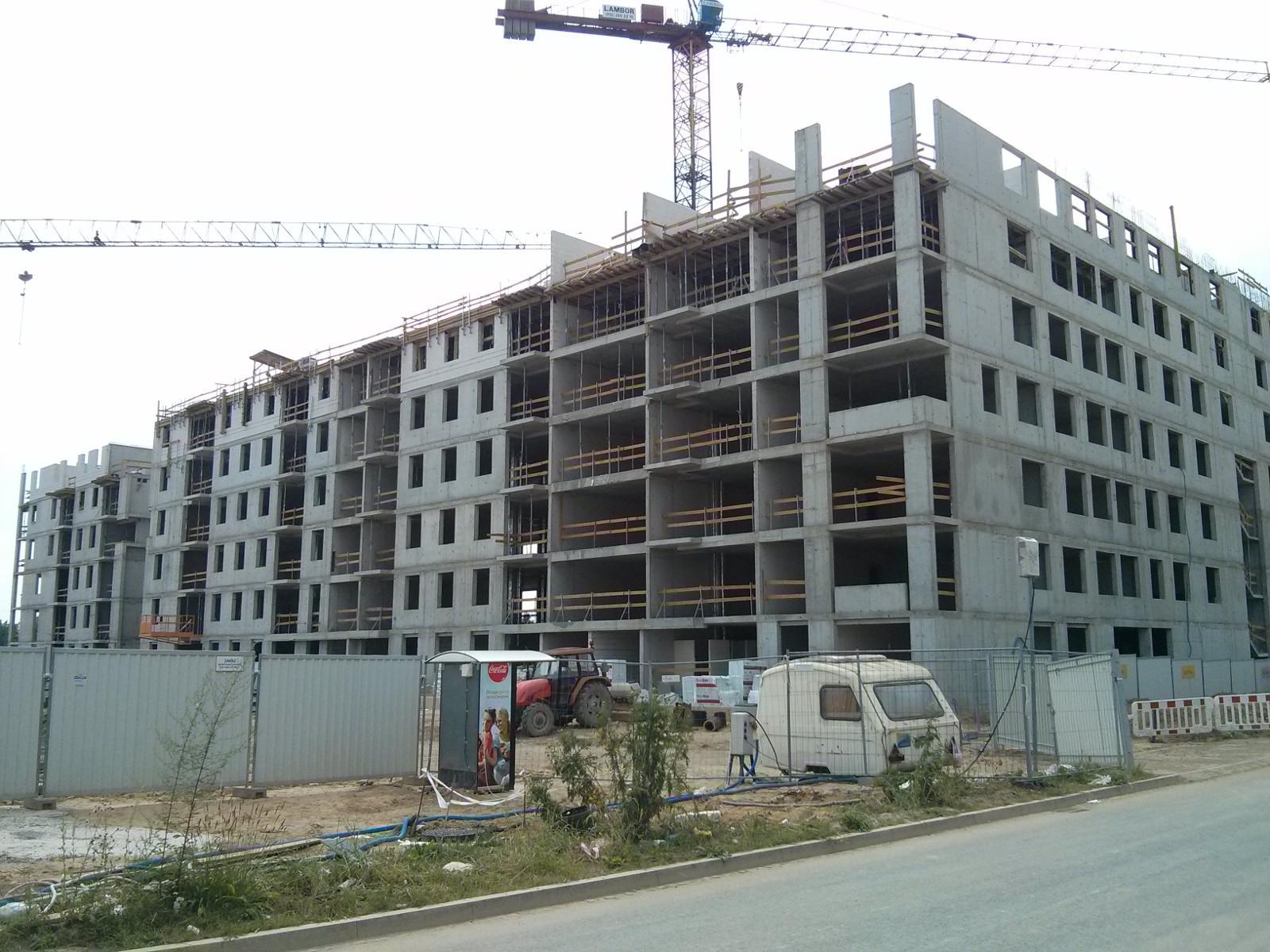 Budowa mieszkań na Orlińskiego 6 w Krakowie przez Budimex