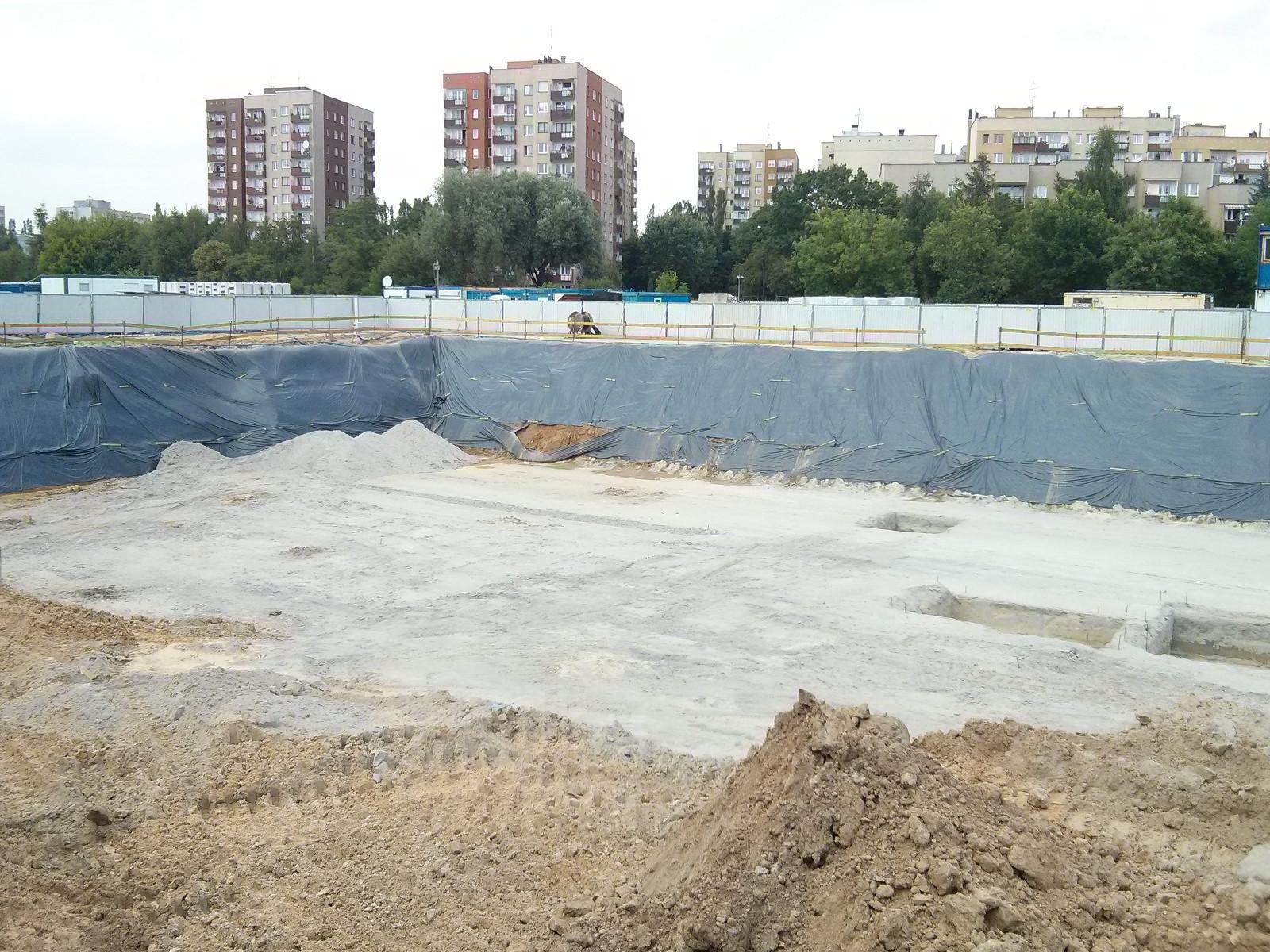 Orlińskiego 3 w Krakowie - wykop gotowy pod inwestycję w Czyżynach