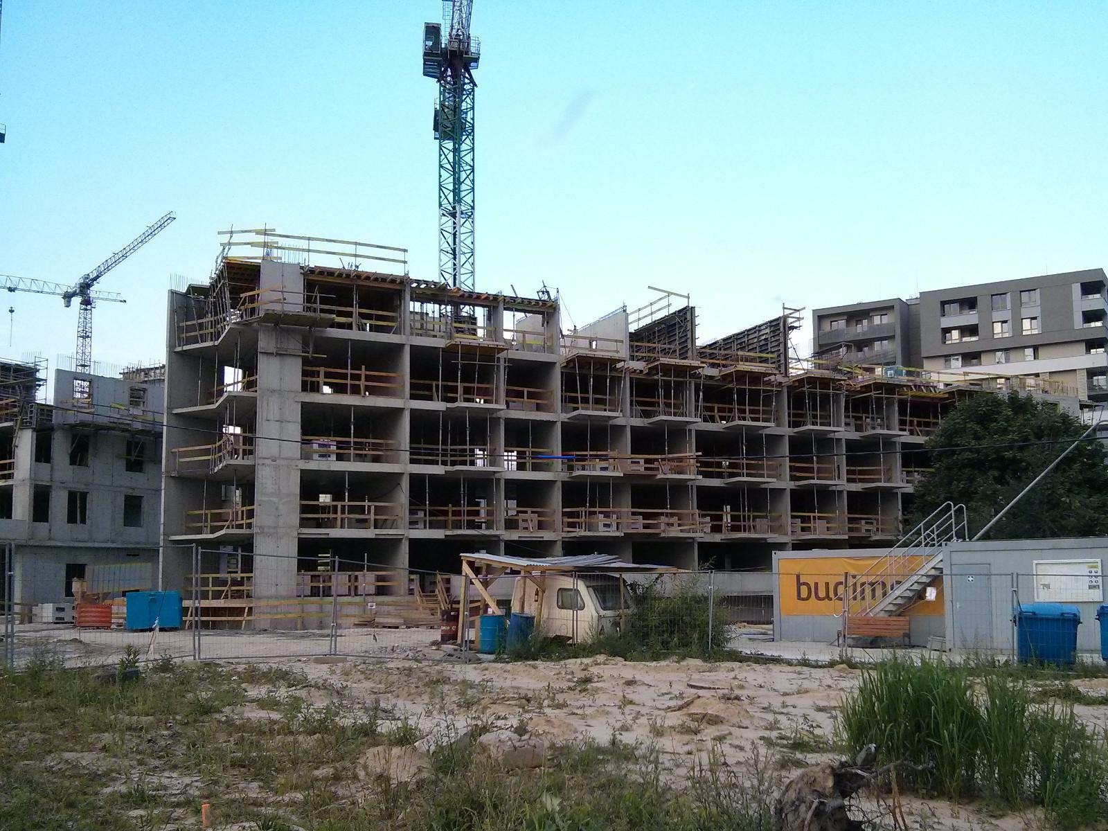 Osiedle Avia 5 - Budimex stawia IV piętro nieruchomości z mieszkaniami