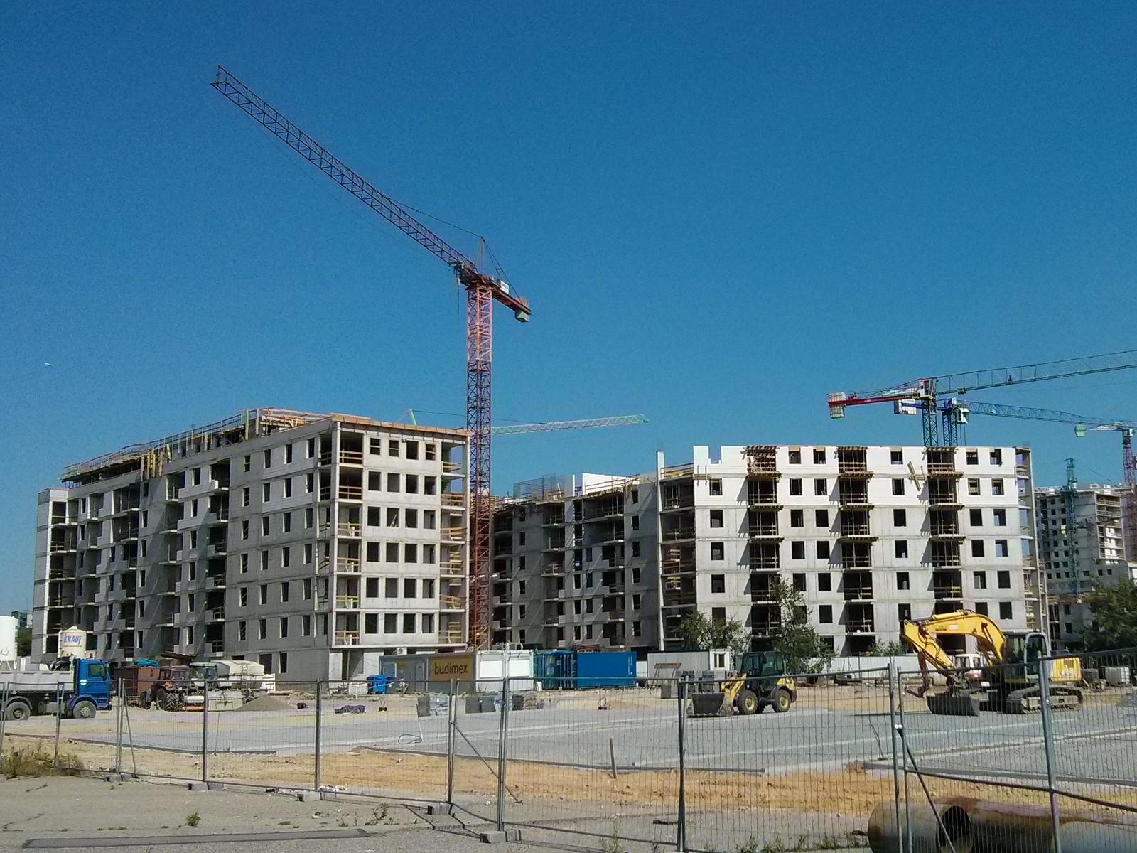 Budowa nowych tanich mieszkań w Czyżynach na Orlińskiego 6