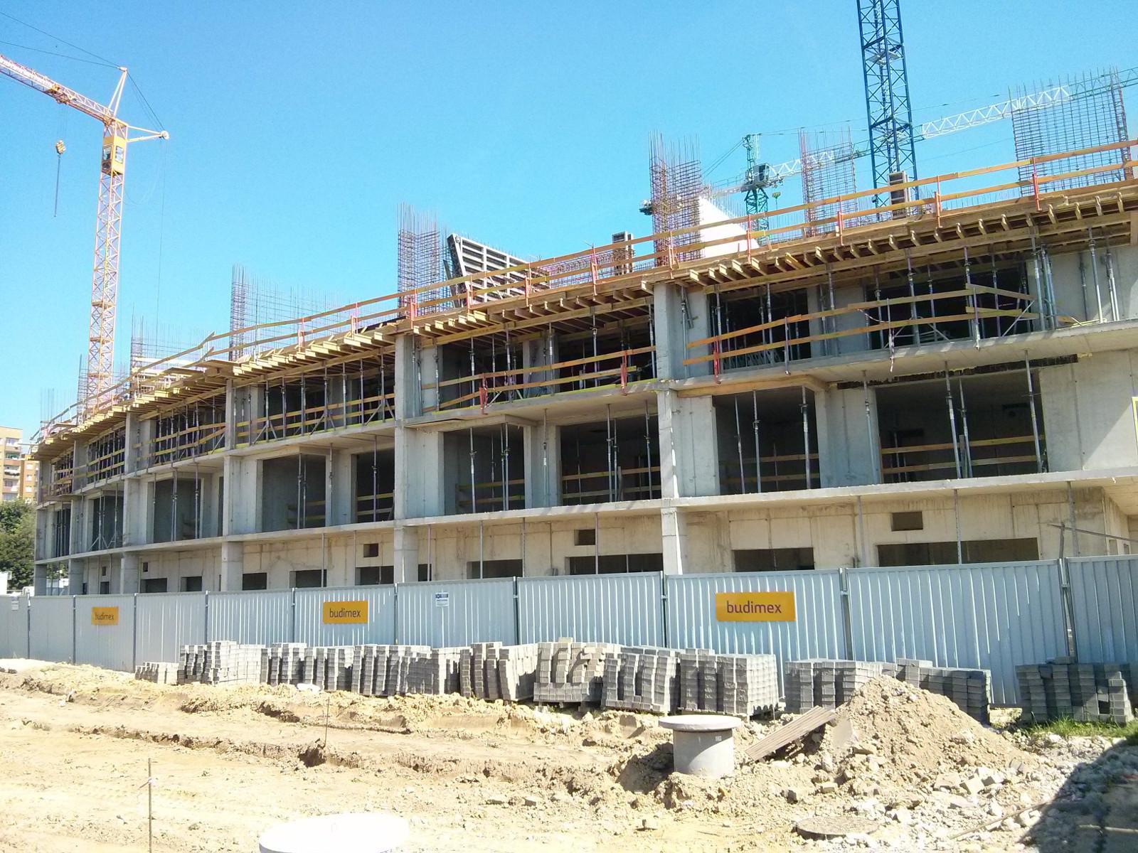 Budimex buduje nowe tanie mieszkania Orlińskiego 1 w Krakowie Czyżynach