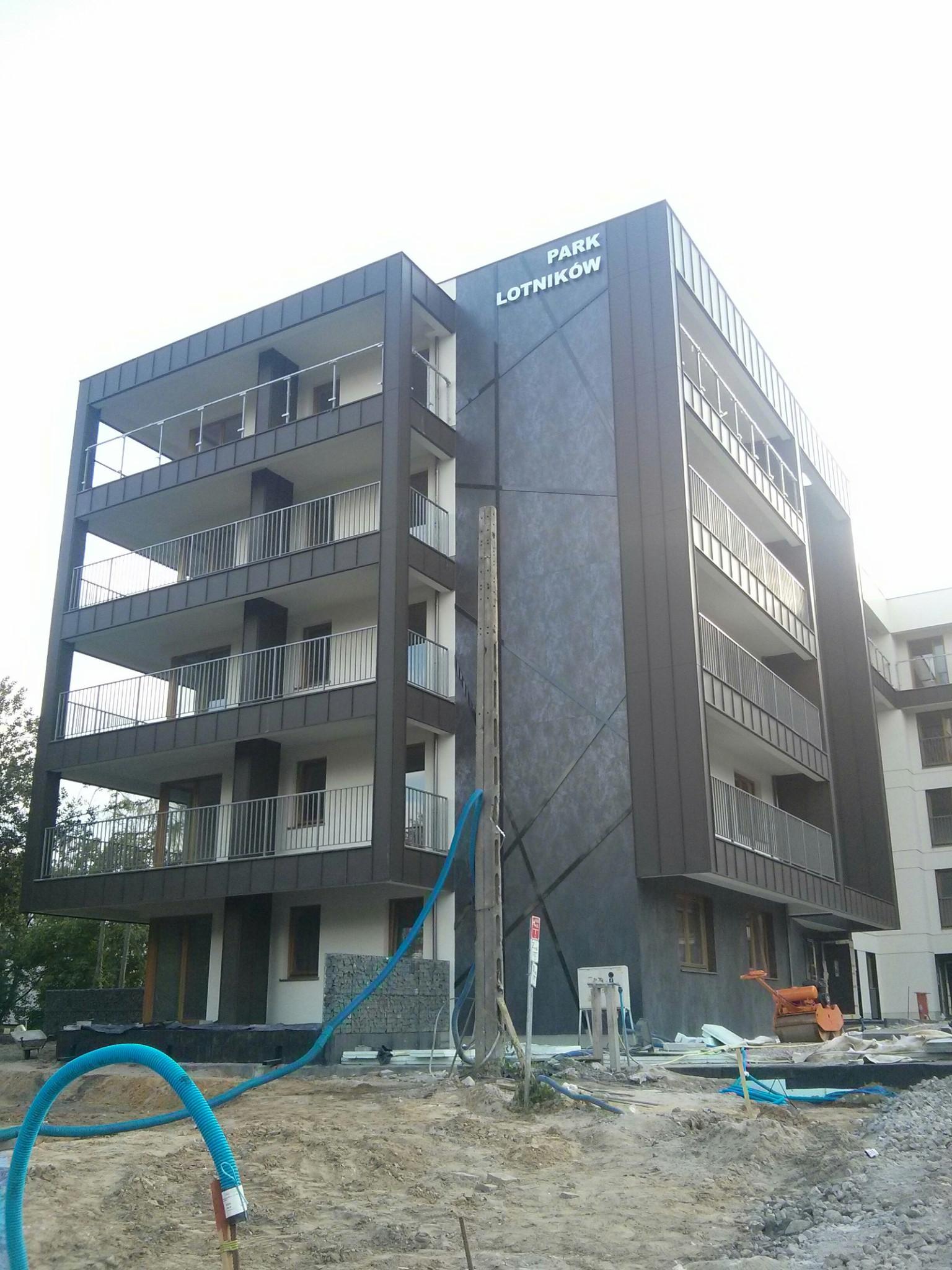 Budowa inwestycji mieszkaniowej Apartamenty Park Lotników od Dasta Invest