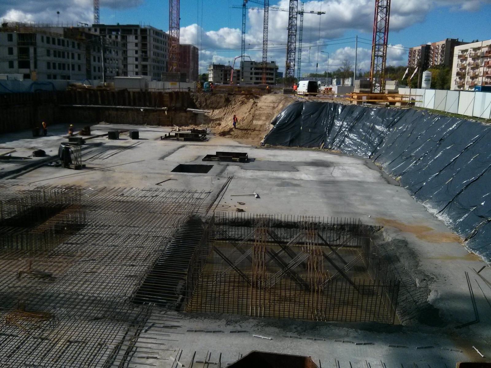 Osiedle Avia 1 Budimexu w Czyżynach - budowa nowej inwestycji