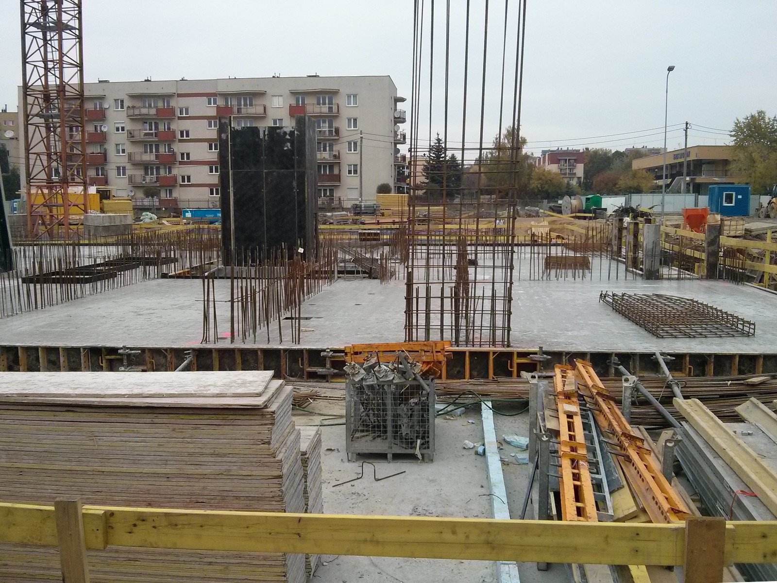 Budowa nowych tanich mieszkań w inwestycji Orlińskiego 5 w Czyżynach
