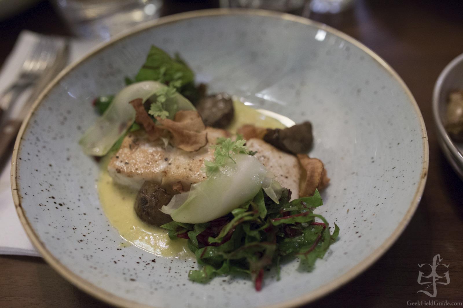 Europe 2015: Day 1.2 – Dinner in Oslo – Bacchus