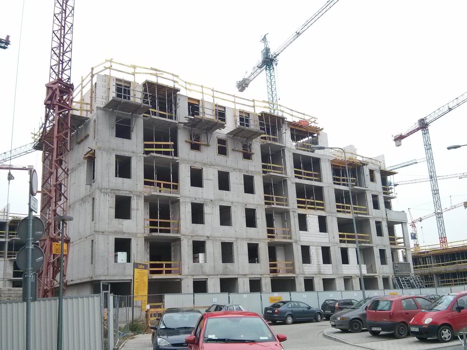 Avia 5 - nowe osiedle mieszkaniowe w Czyżynach od Budimexu