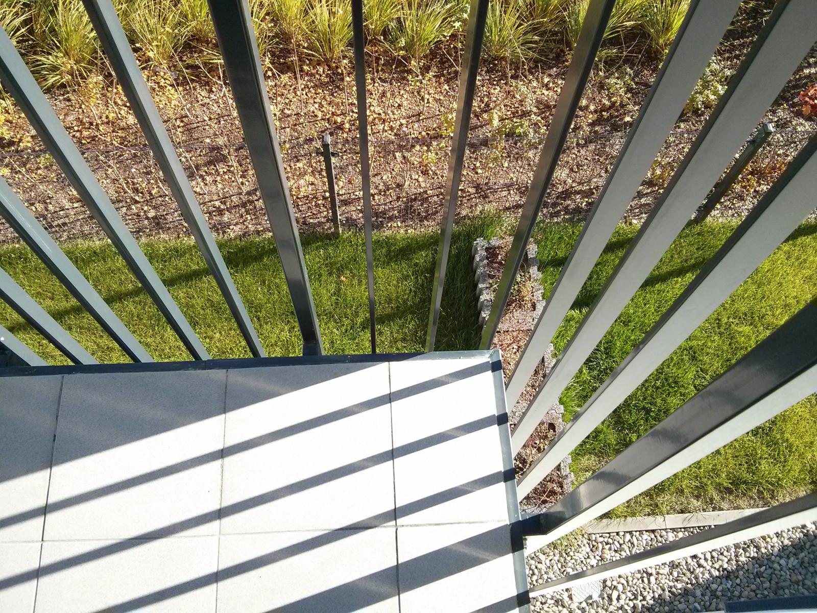 Wykończenie balkonu na osiedlu nowe Czyżyny w Krakowie