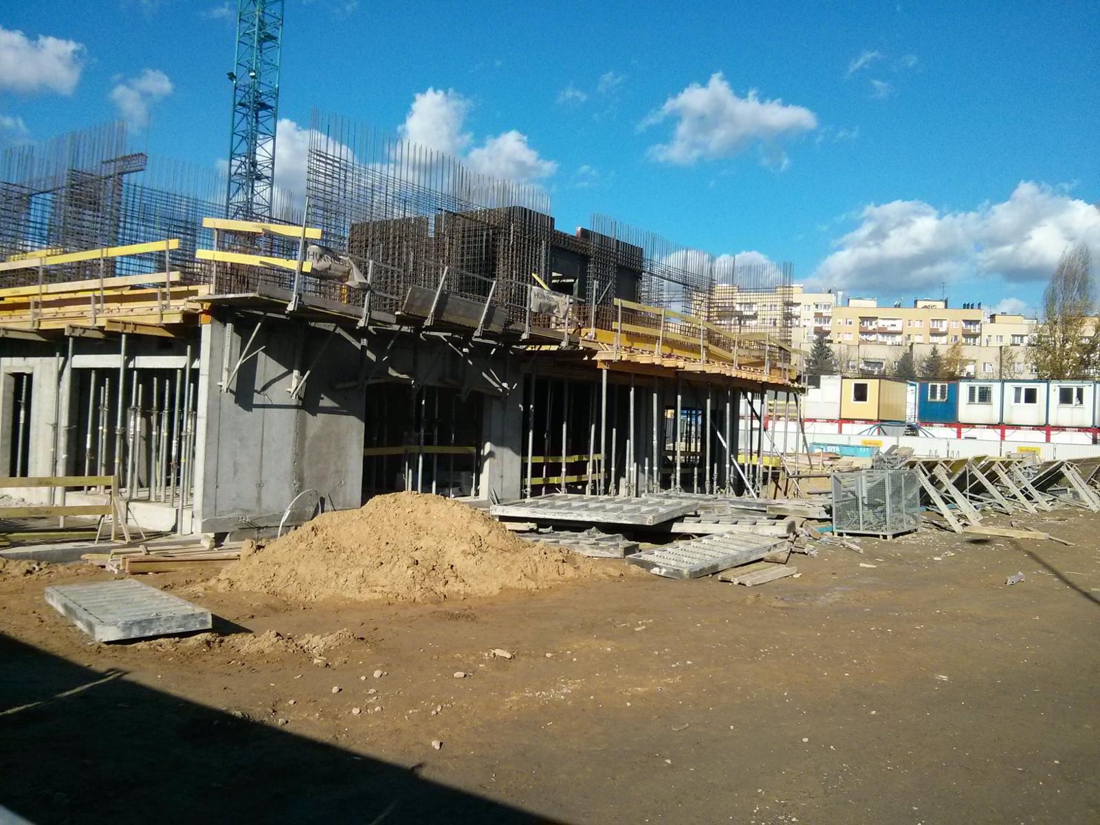 Budowa osiedla Orlińskiego 3 przez Budimex w Czyżynach