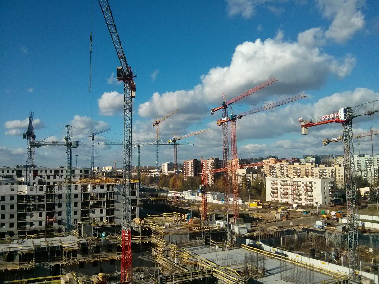 Osiedle Orlińskiego w Czyżynach - Bduimex buduje poziom podziemny nowego bloku