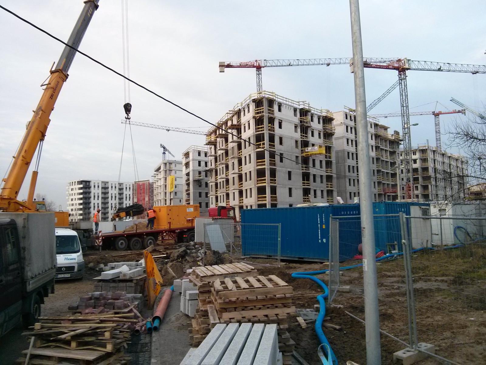 Budowa osiedla Orlińskiego 12 w Krakowie - tanie mieszkania w Czyżynach Budimex