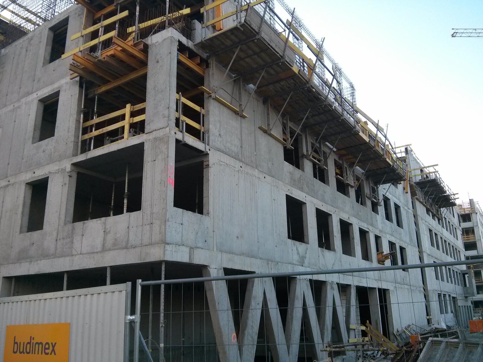 Osiedle Avia 3 w Krakowie - powstają nowe tanie mieszkania od Budimexu