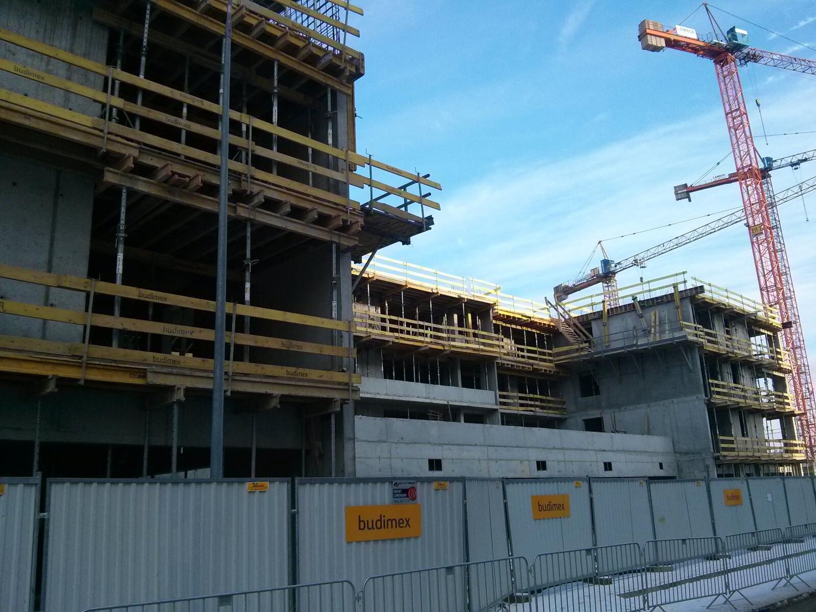 Budowa osiedla Orlińskiego 5 w Krakowie - tanie nowe mieszkania