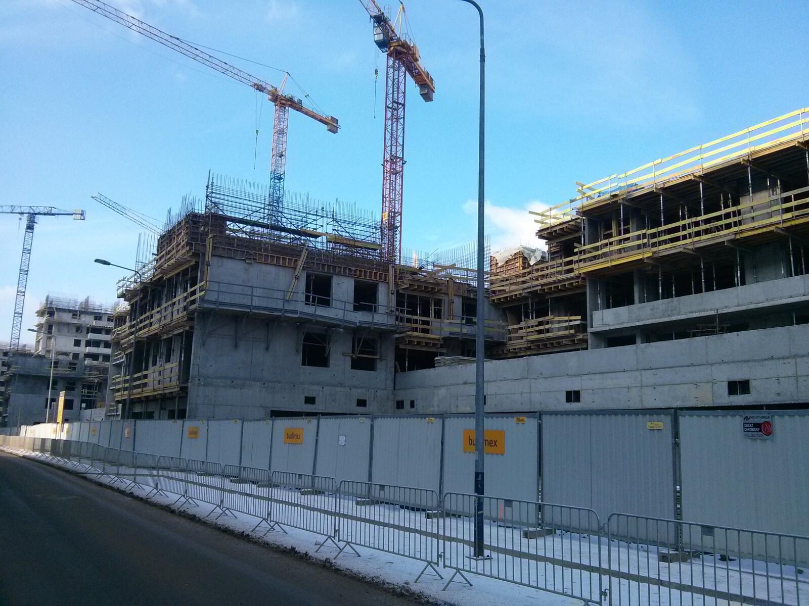 Budowa tanich mieszkań w Krakowie przy Orlińskiego 5