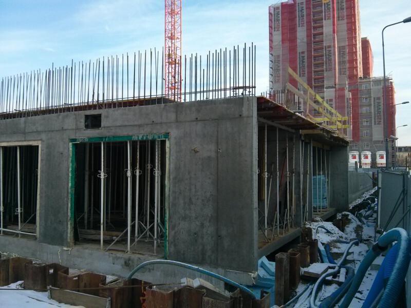 Budimex stawia parter nowej inwestycji mieszkaniowej w Krakowie Czyżynach