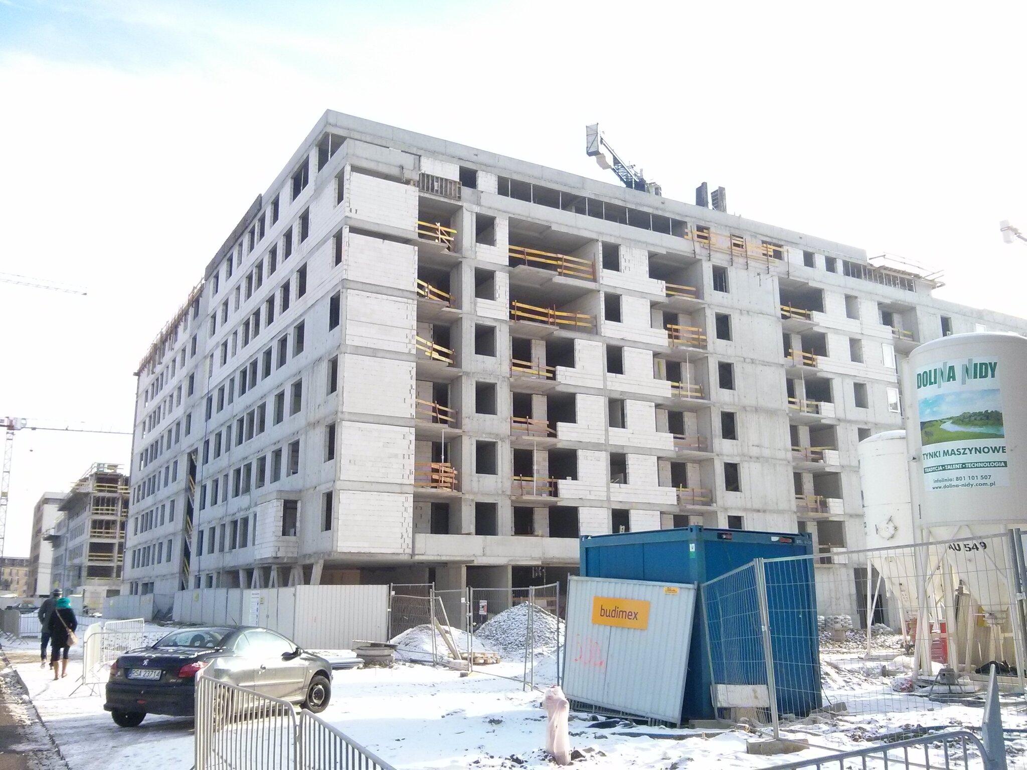 Budimex Nieruchomości stawia tanie mieszkania na Orlińskiego 8 Kraków